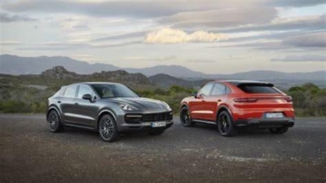 Bmw 2020 Model Year Schedule by 2020 Porsche Cayenne Coupe To Get Hybrid Trim Ctv News