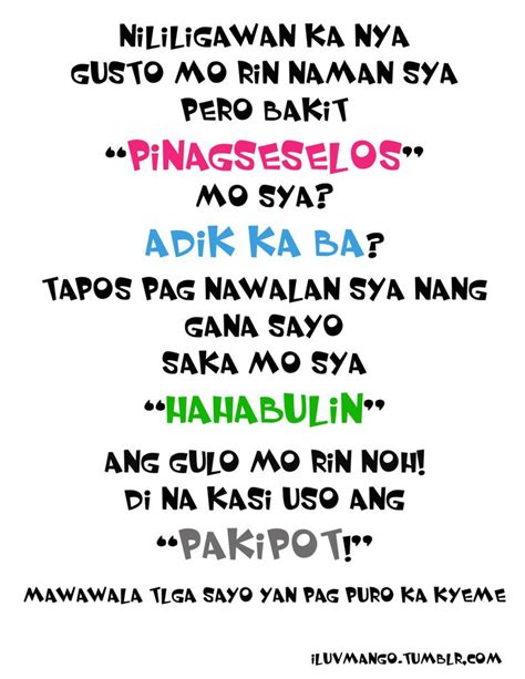 lyrics in tagalog best 25 in quotes tagalog ideas on gods