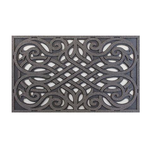 Gray Doormat by Trafficmaster Grey 18 In X 30 In Door Mat 60 951 1703