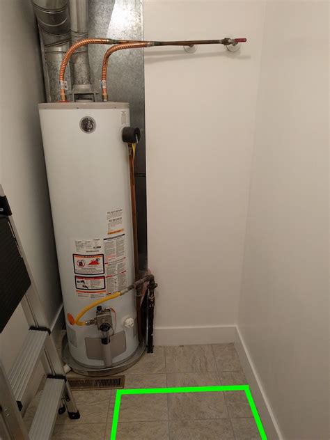 Water Heater Washer gas split gas line to gas water heater for gas