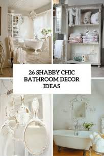 Decor Ideas For Bathroom 26 adorable shabby chic bathroom d 233 cor ideas shelterness