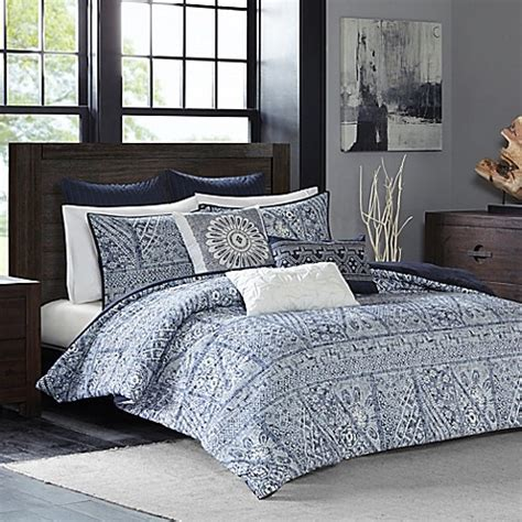 ivy comforter set ink ivy luna comforter set bed bath beyond