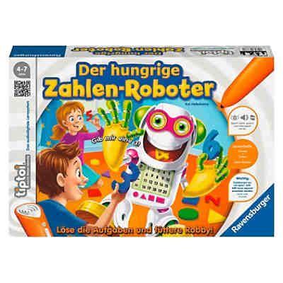 speelgoed ah xl tiptoi der hungrige zahlenroboter ohne stift tiptoi