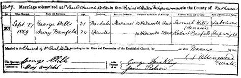 Sunderland Marriage Records My Great Great Grandparents