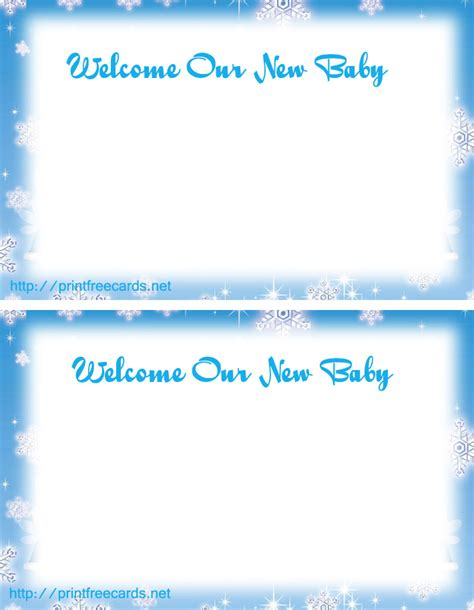 free printable photo birth announcements templates free printable birth announcements templates new