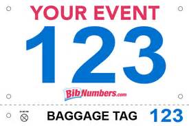 Race Bib Template by Bib Style Options And Sles 187 Bibnumbers