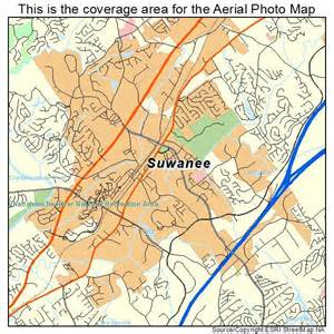 suwanee map aerial photography map of suwanee ga