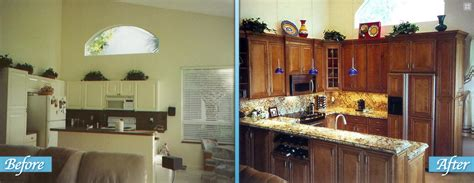 kitchen before and after remodels home design