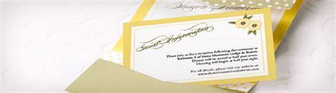 Wedding Details Card Exles