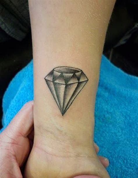 tattoos diamond design 56 fantastic wrist tattoos