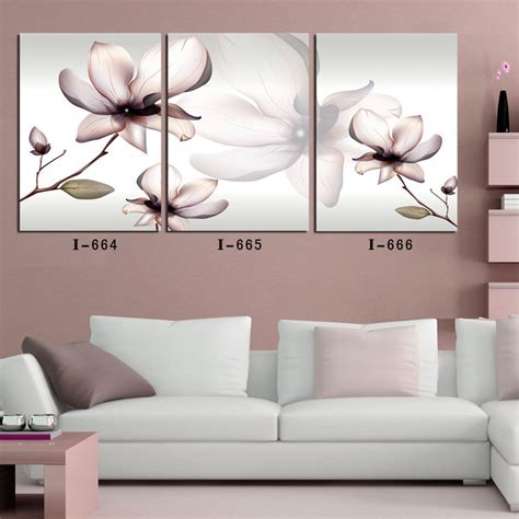 canvas prints cheap large wall home decor flower
