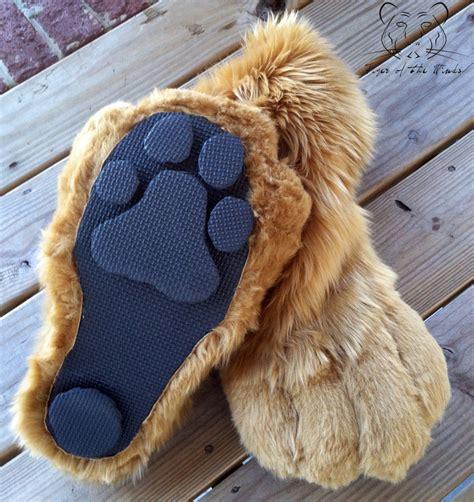 german shepherd slippers commission german shepherd paws bottom by