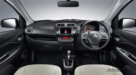 mitsubishi mirage 2015 interior interior mitsubishi harga promo dan spesifikasi