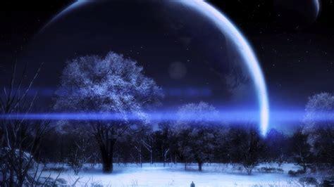 imagenes para fondo de pantalla con efectos paisaje nocturno con efectos 3d 1920x1080 fondos de