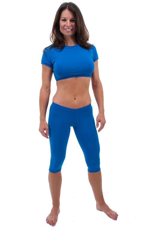 35 38 Silet 4 Legging Clara Garment Blue Biru Jegging Stretch Jumbo baby doll in royal blue cotton lycra by skinz
