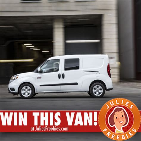 Van Giveaway - ultimate van giveaway julie s freebies