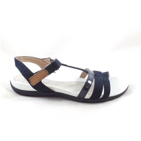 navy sandals flat nepal 22 55903 navy blueopen toe flat sandal