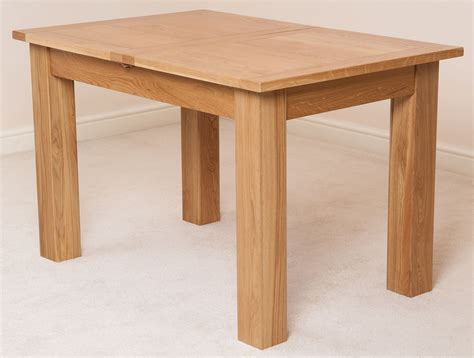 hton solid oak wood medium 120cm extending table wooden