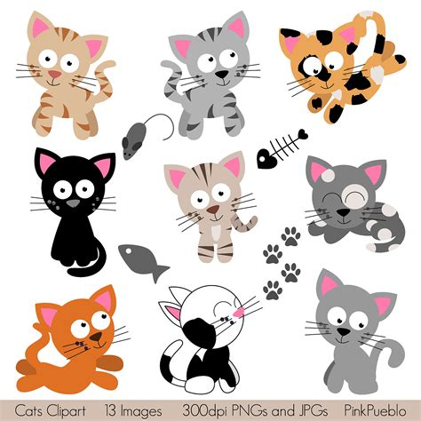 cat and clipart cats clipart clip kitten clipart clip by pinkpueblo