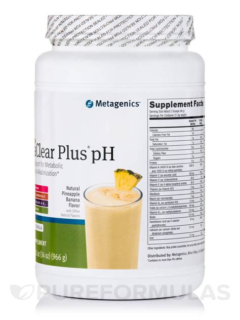 Ultraclear Plus Ph Detox by Ultraclear 174 Plus Ph Food Pineapple Banana