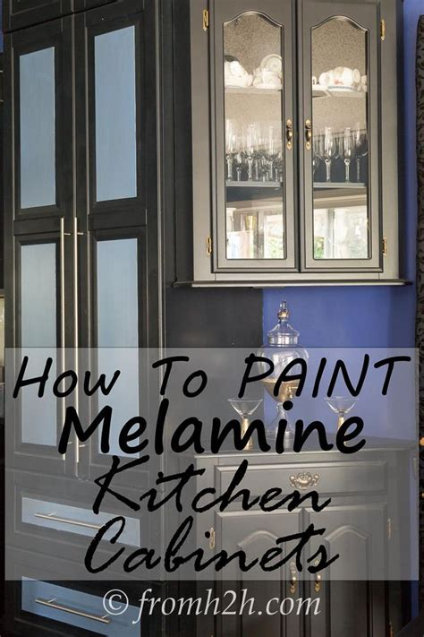 how to paint melamine kitchen cabinets how to paint cas