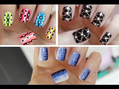 easy nail art for beginners 7 easy nail art for beginners 2 youtube