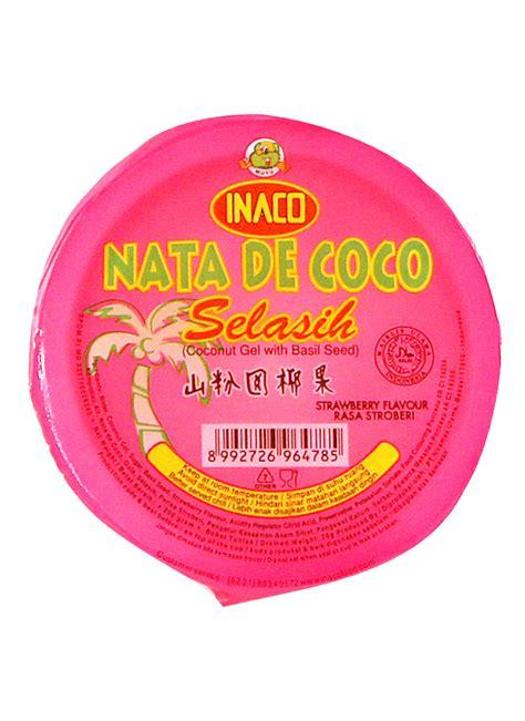 Inaco I M Coco Lychee 350ml inaco nata de coco selasih strawberry cup 200g klikindomaret
