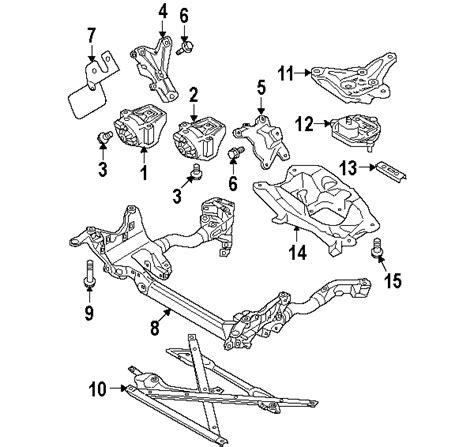 audi a4 parts diagram parts 174 audi front mount a4 all manual trans 2