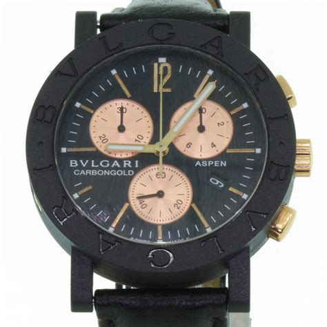 bvlgari s carbon aspen gold limited edition