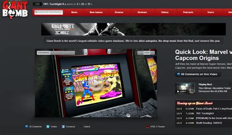 game website layout 33 video game blogs fansites and website layout designs