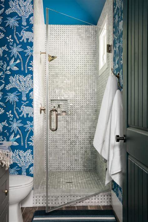 pool bathroom top 20 bathroom tile trends of 2017 hgtv s decorating