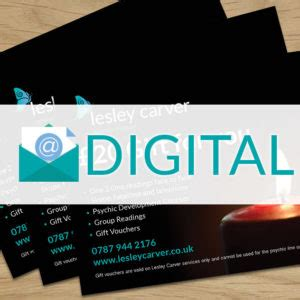 Carvers Gift Card - gift cards and vouchers for lesely carver psychic medium services