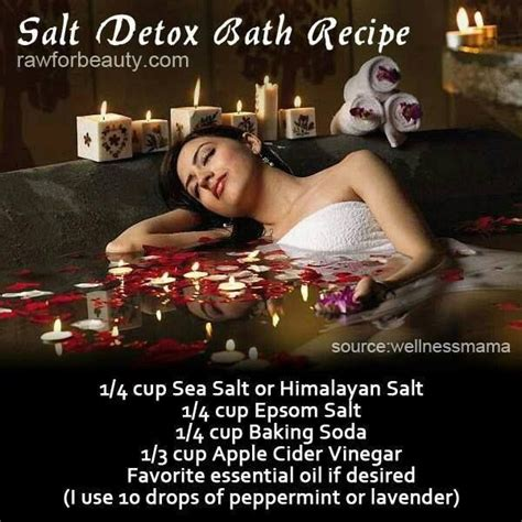 Can You Drink Epsom Salts To Detox by Living Essential Oils Salt Detox Bath Recipe