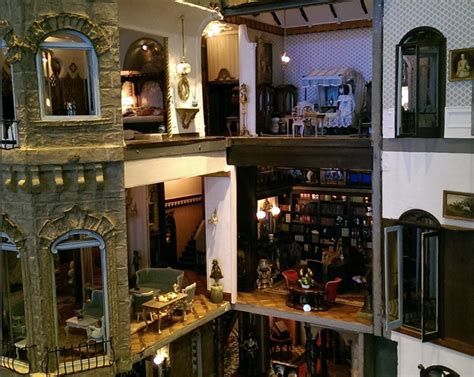 the biggest doll house the world s largest dollhouse is now on display in new york city for the first time