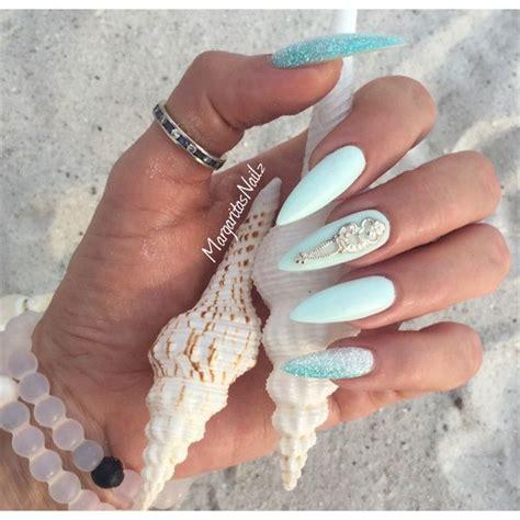 Jiuku Nail Purple Green White Glitter 63 nails nail gallery nailart