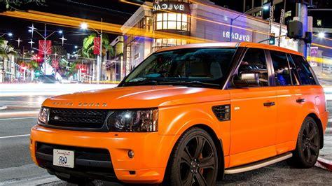 land rover orange orange land rover hd cars 4k wallpapers images