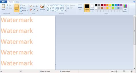 tutorial how to add text watermark using free software inserting a watermark behind the text in excel microsoft