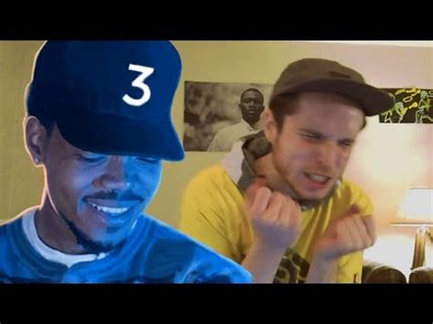 coloring book chance the rapper reaction chance the rapper coloring book reaction review