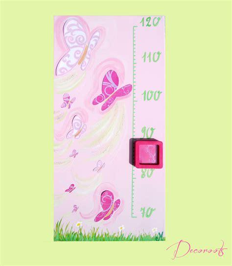 Formidable Chambre Bebe Vert Anis #3: toise-enfant-bebe-fille-envol-de-papillons-rose-violet-parme-vert-anis-fuschia-paillette-decoration-77.png