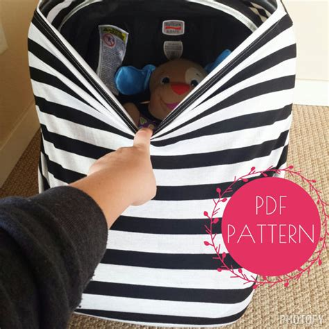 easy diy car seat cover car seat cover nursing cover sewing pattern diy stretchy baby