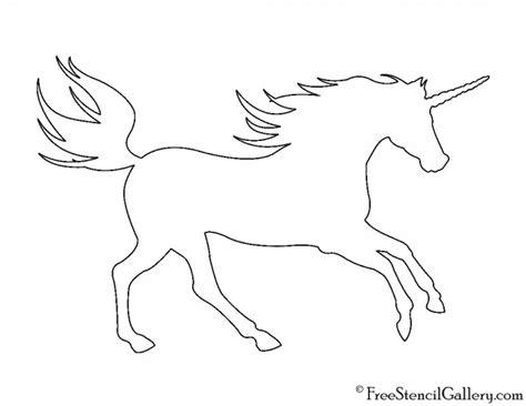 unicorn cut out pattern unicorn silhouette 01 stencil free stencil gallery