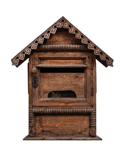 cassetta postale legno cassetta postale di legno fotografie stock immagine