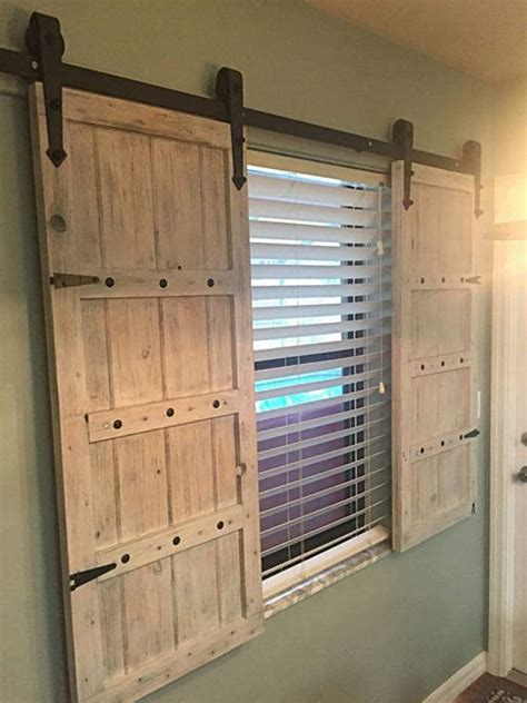 Sliding Barn Door Shutters Barn Door Window Shutters