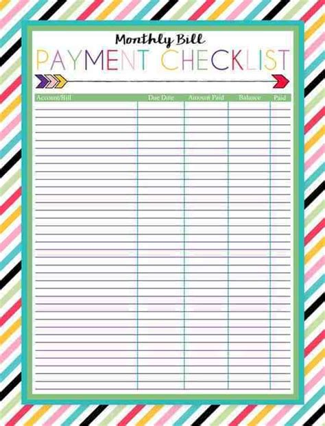 17 Brilliant And Free Monthly Budget Template Printable You Need To Grab Budget To Save Money Template