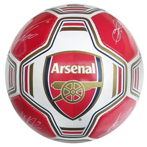 Arsenal Signature 6 your sports id arsenal signature football with free