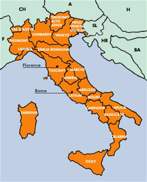 sections of italy travel in italy and culture information about italian