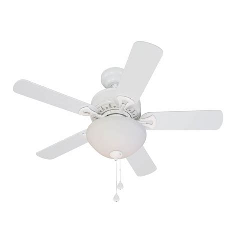 36 Ceiling Fans With Lights Shop Harbor 36 In White Downrod Mount Ceiling Fan