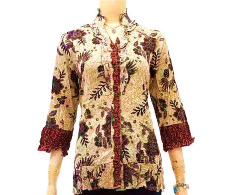 Baju Batik Wanita Gendut model baju batik kerja untuk wanita gemuk ragam informasi terkini