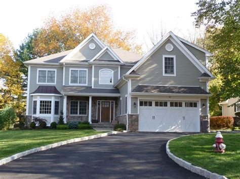 gray siding houses gray siding tan stone dream home pinterest