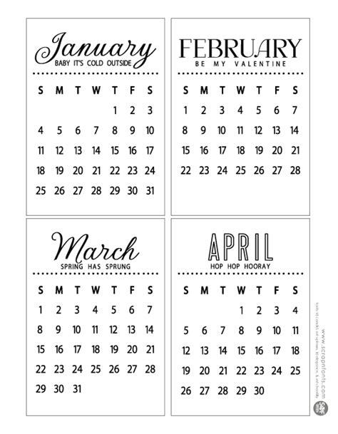 printable calendar 2015 mini 2015 small calendar new calendar template site